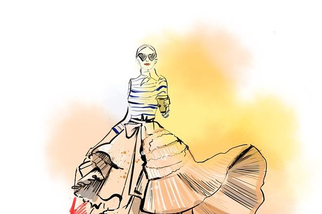 Сделаю иллюстрацию в стиле фэшн иллюстрации 15 - kwork.ru