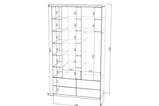 Конструкторская документация для изготовления мебели 42 - kwork.ru