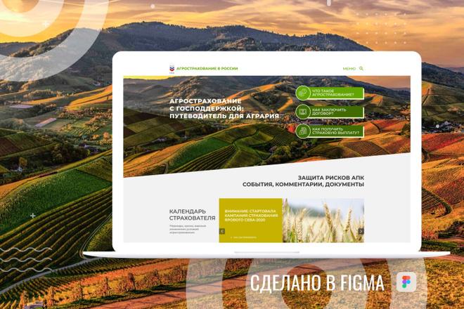 Уникальный дизайн сайта для вас. Интернет магазины и другие сайты 52 - kwork.ru