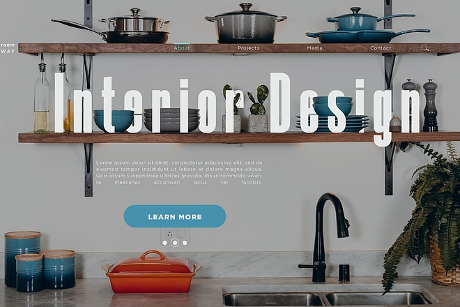 Уникальный дизайн сайта 2 - kwork.ru