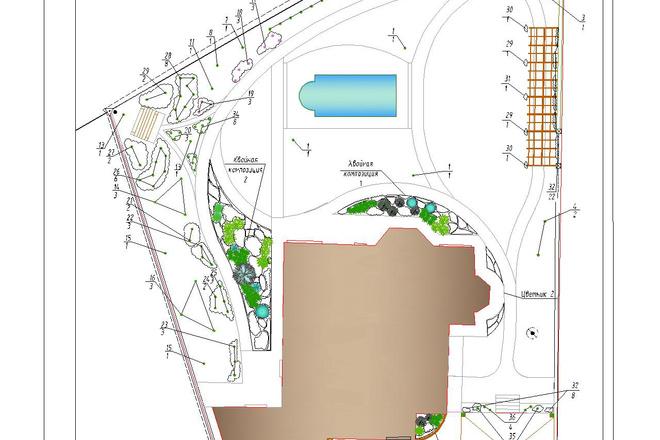 Ландшафтный дизайн и проектирование 9 - kwork.ru