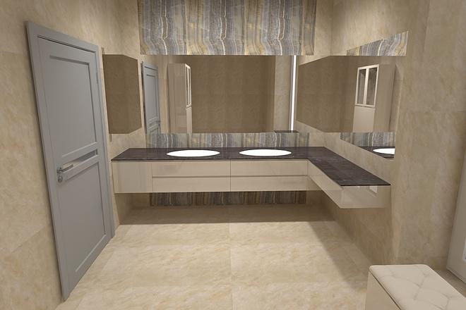 Визуализация мебели, предметная, в интерьере 44 - kwork.ru