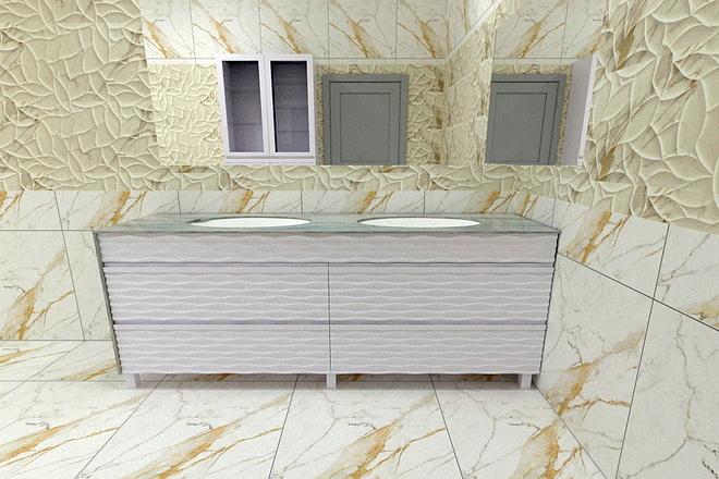 Визуализация мебели, предметная, в интерьере 46 - kwork.ru