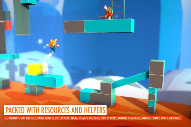 Ассет Corgi Engine - 2D + 2.5D Platformer для Unity 2 - kwork.ru