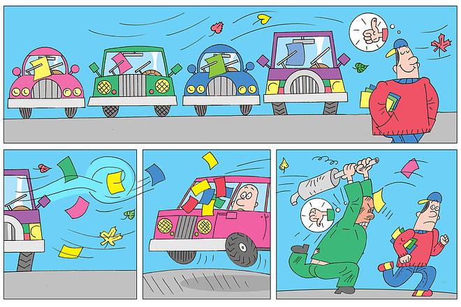 Нарисую стрип для газеты, журнала, блога, сайта или рекламы 11 - kwork.ru