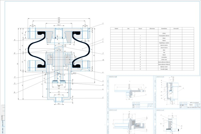 Выполнение планов, фасадов, деталей, схем 4 - kwork.ru