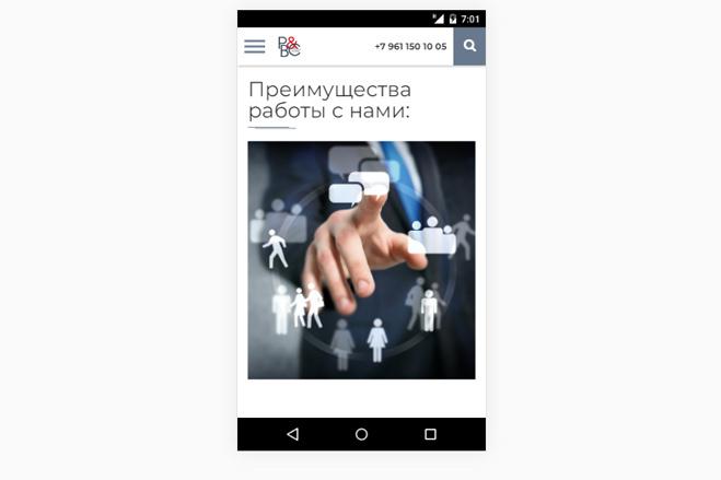 Адаптация сайта под мобильные устройства 96 - kwork.ru