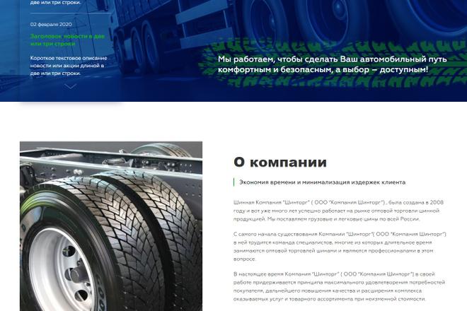 Сайт под ключ. Landing Page. Backend 66 - kwork.ru