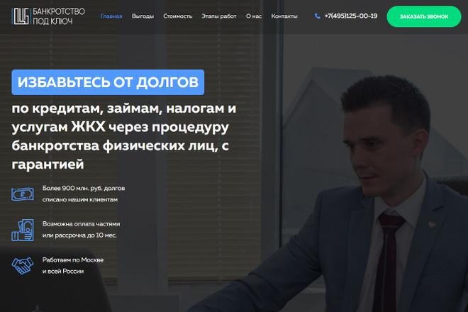 Сделаю классный Лендинг на Elementor Pro 5 - kwork.ru