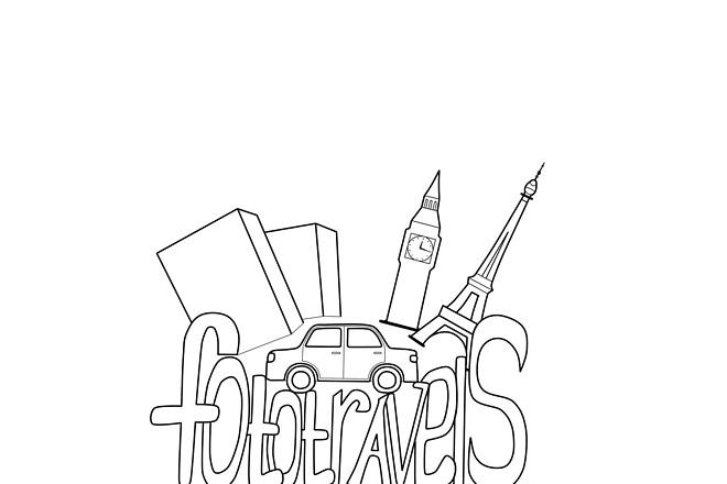 Логотип в векторе по вашему рисунку 3 - kwork.ru