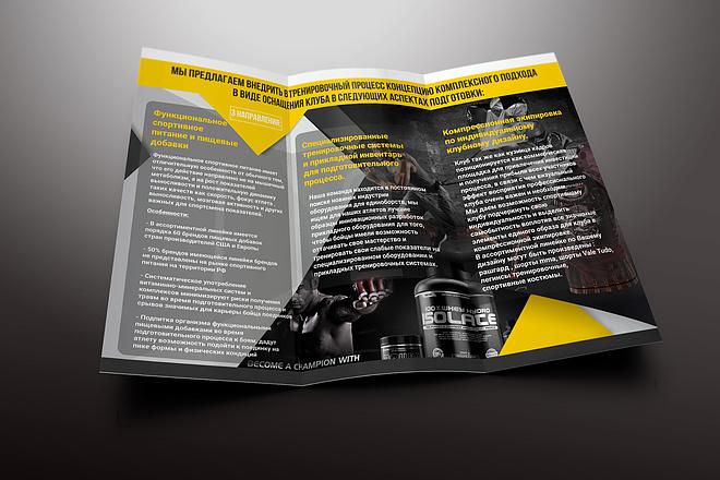 Разработка дизайна буклетов 11 - kwork.ru