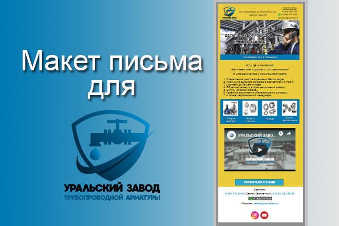 Создам html письмо для e-mail рассылки -адаптация + дизайн 26 - kwork.ru