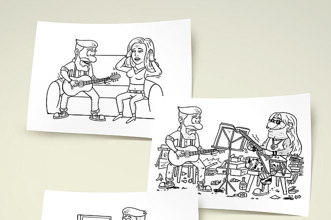 Нарисую для Вас иллюстрации в жанре карикатуры 147 - kwork.ru