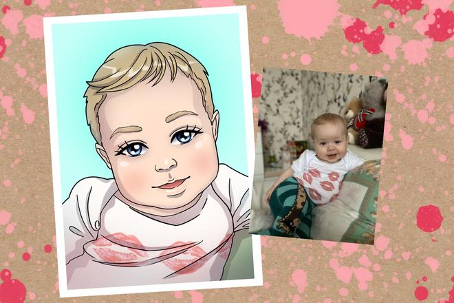 Портрет в стиле аниме или манги 6 - kwork.ru