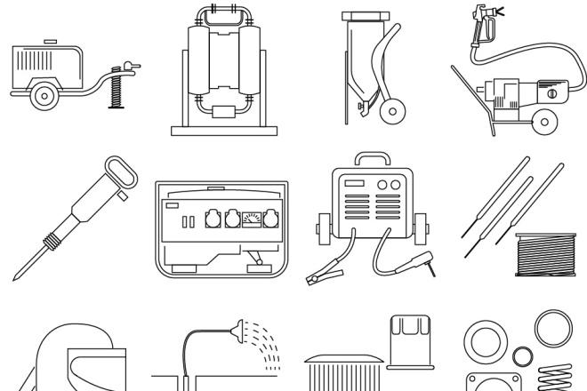 Нарисую 6 иконок в любом стиле 14 - kwork.ru