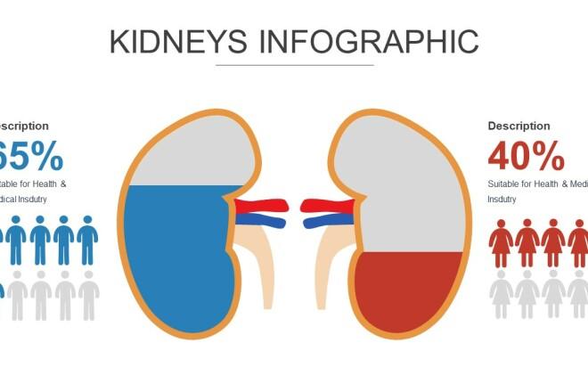 Инфографика на медицинскую тему. Шаблоны PowerPoint 5 - kwork.ru