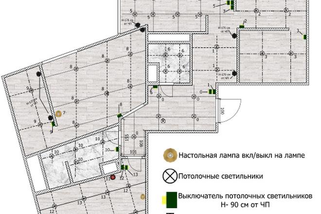 Интересные планировки квартир 81 - kwork.ru