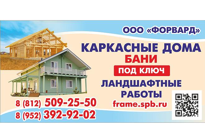 Баннер для печати 9 - kwork.ru