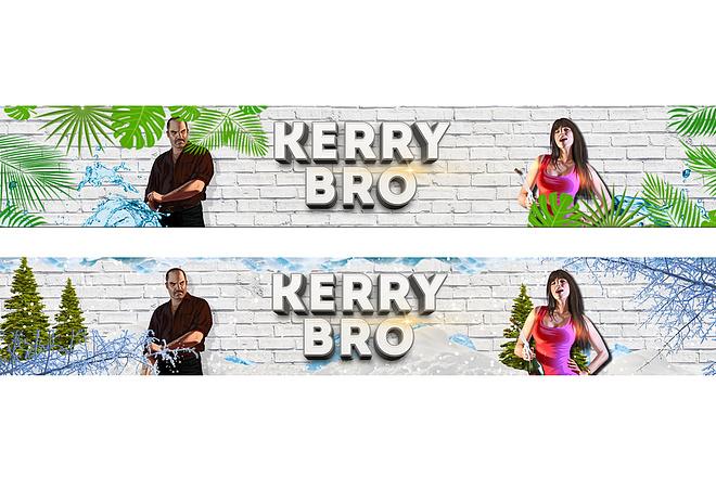 Оформление youtube канала 90 - kwork.ru