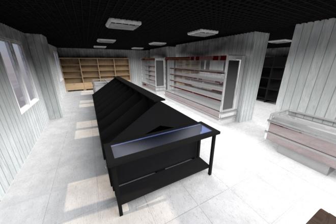 Чертежи + 3D визуализация 58 - kwork.ru