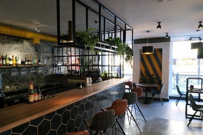 Создам визуализацию дизайна кафе, бара, шаурмечной 9 - kwork.ru