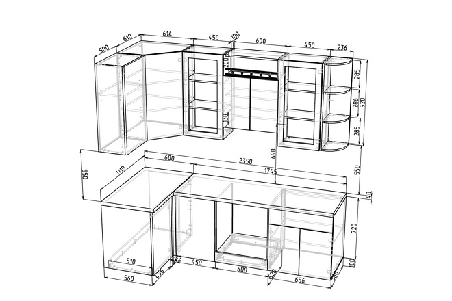 Конструкторская документация для изготовления мебели 133 - kwork.ru