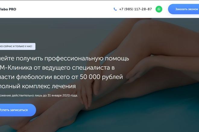 Сделаю классный Лендинг на Elementor Pro 19 - kwork.ru