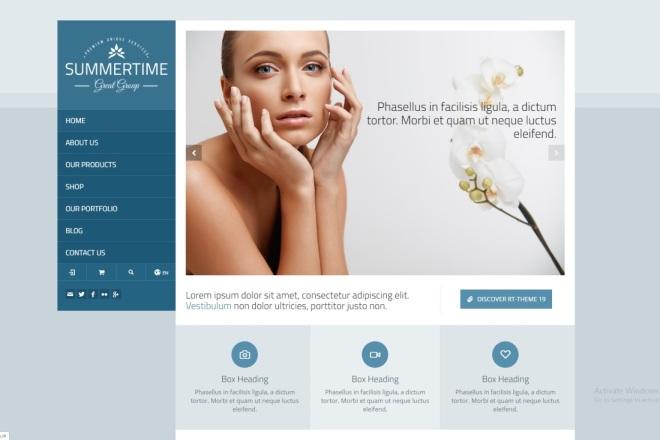 Продаю готовые онлайн магазины с премиум шаблонами на WordPress 8 - kwork.ru