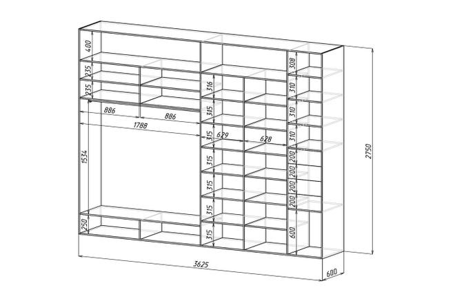 Проект корпусной мебели, кухни. Визуализация мебели 54 - kwork.ru