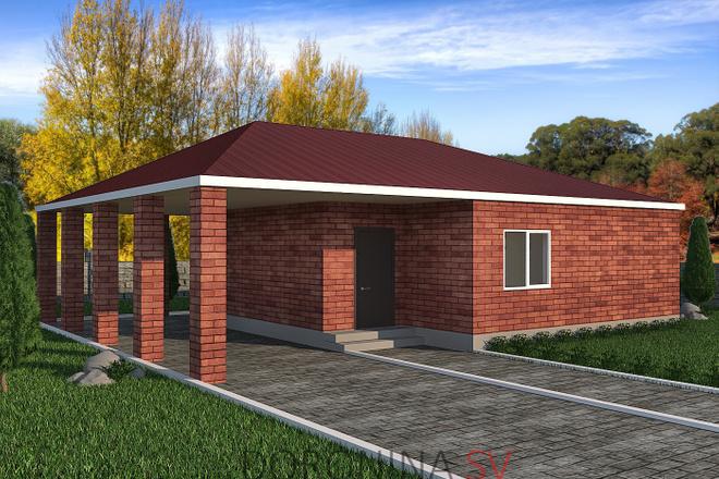 Визуализация домов 5 - kwork.ru
