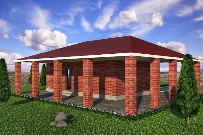 Визуализация домов 3 - kwork.ru
