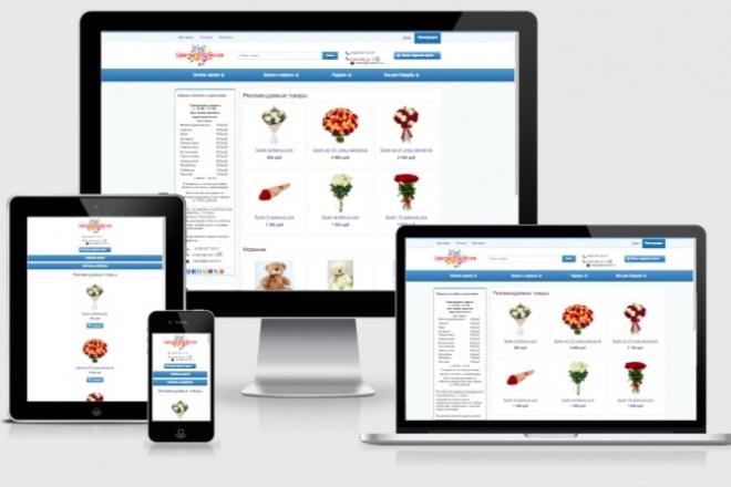 Адаптирую Ваш сайт под мобильные устройства 44 - kwork.ru