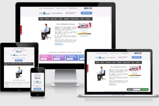 Адаптирую Ваш сайт под мобильные устройства 33 - kwork.ru