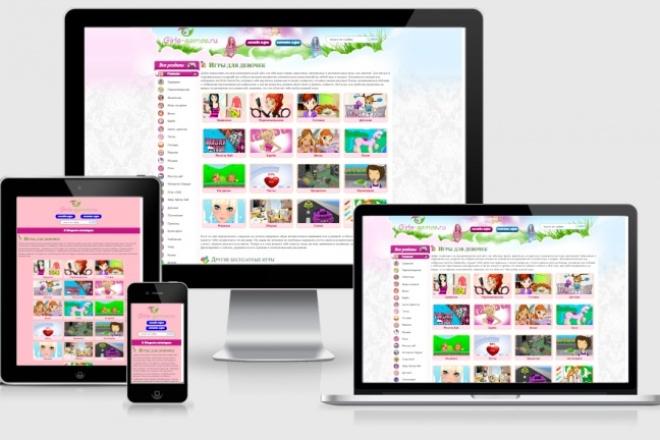 Адаптирую Ваш сайт под мобильные устройства 24 - kwork.ru