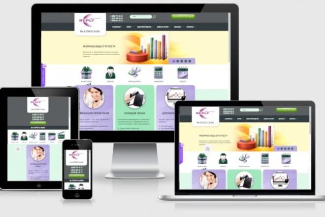 Адаптирую Ваш сайт под мобильные устройства 22 - kwork.ru