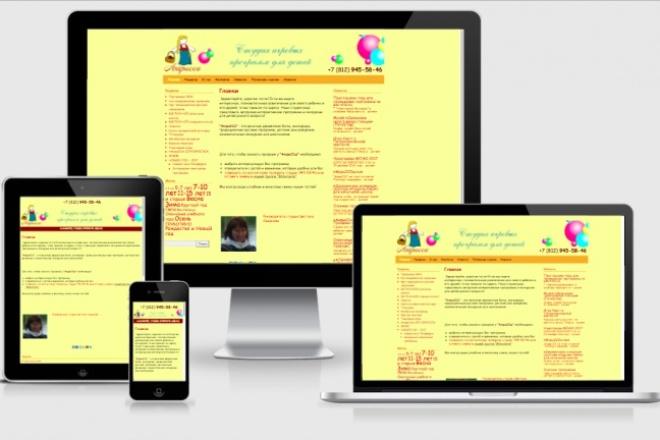 Адаптирую Ваш сайт под мобильные устройства 50 - kwork.ru