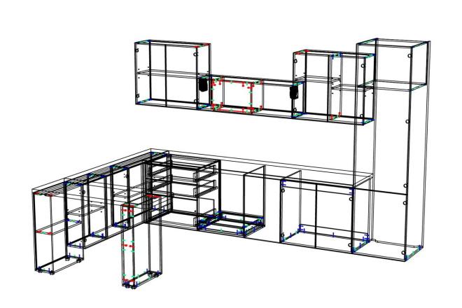 Конструкторская документация для изготовления мебели 123 - kwork.ru