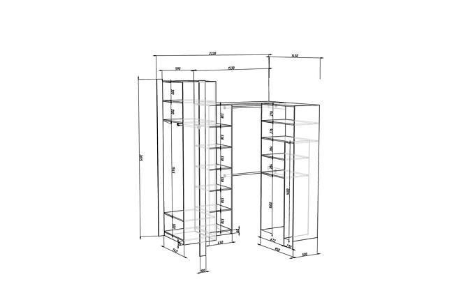 Конструкторская документация для изготовления мебели 76 - kwork.ru