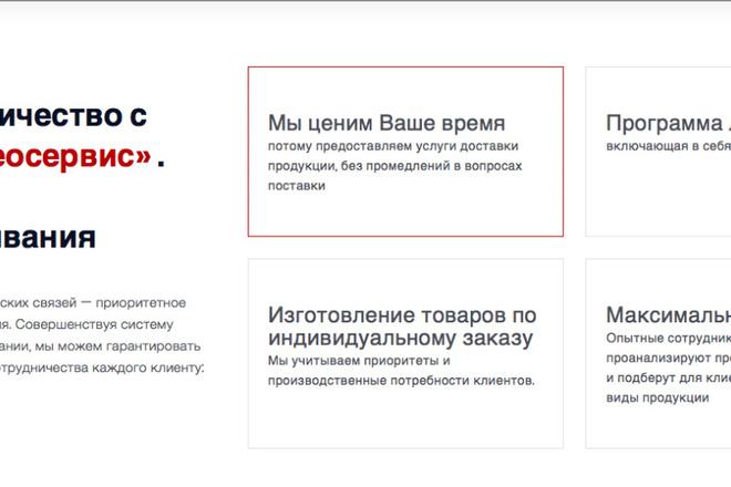 Создам сайт под ключ на WordPress 12 - kwork.ru