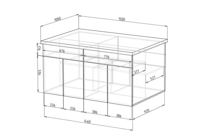 Конструкторская документация для изготовления мебели 134 - kwork.ru