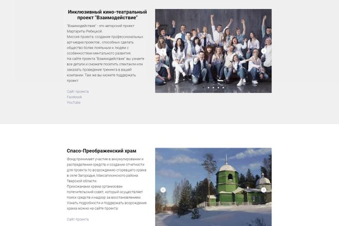 Перенос, экспорт, копирование сайта с Tilda на ваш хостинг 59 - kwork.ru