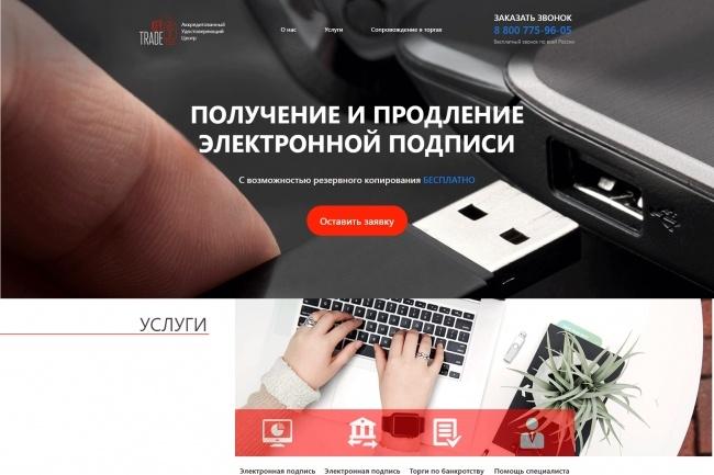 Любая верстка из PSD макетов 89 - kwork.ru