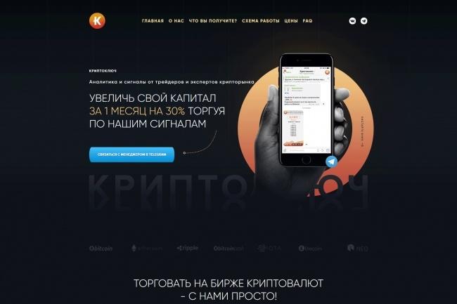 Любая верстка из PSD макетов 92 - kwork.ru