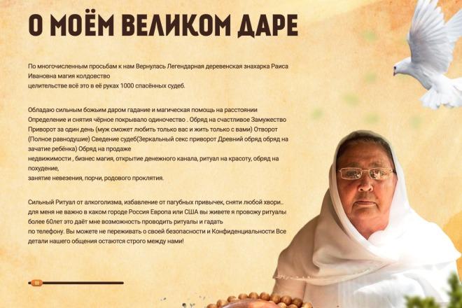 Вёрстка сайтов по доступной цене 71 - kwork.ru