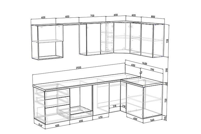 Конструкторская документация для изготовления мебели 100 - kwork.ru