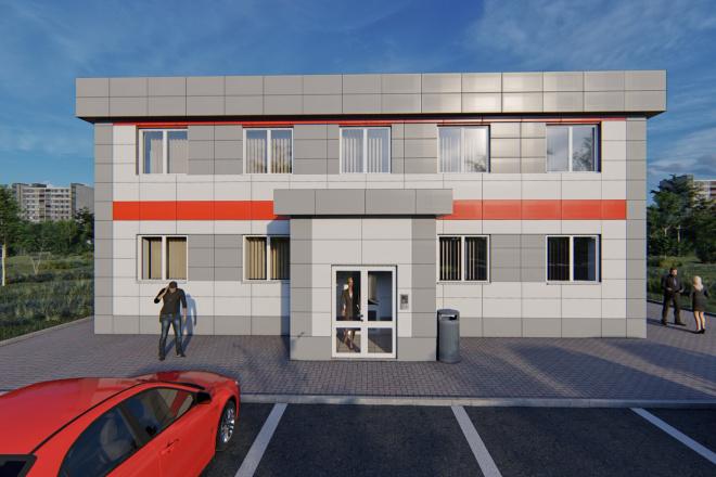 Фотореалистичная 3D визуализация экстерьера Вашего дома 77 - kwork.ru