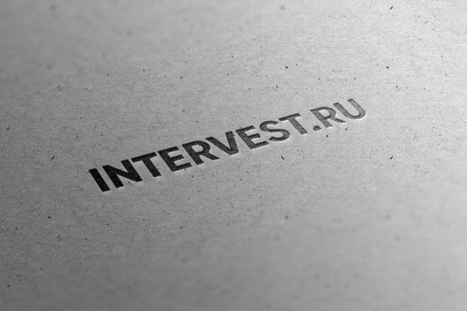 Создам современный логотип 5 - kwork.ru