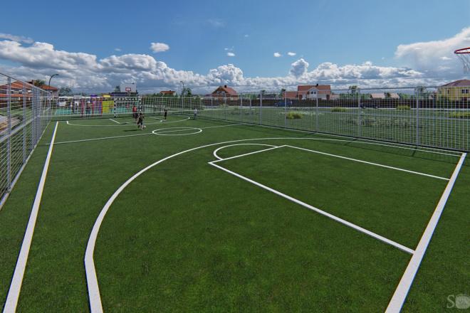 Фотореалистичная 3D визуализация экстерьера Вашего дома 200 - kwork.ru