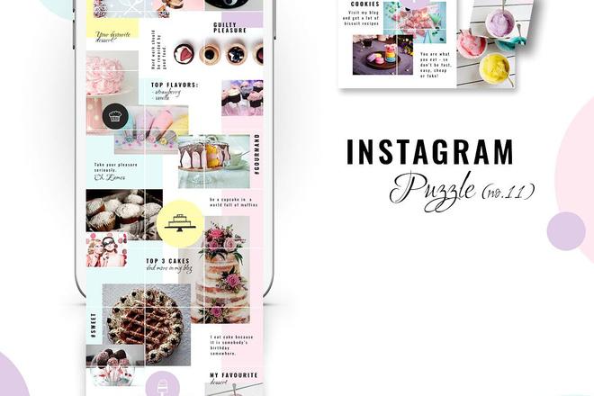 25000 шаблонов для Instagram, Вконтакте и Facebook + жирный Бонус 16 - kwork.ru