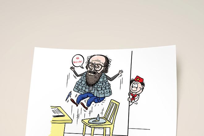Нарисую для Вас иллюстрации в жанре карикатуры 179 - kwork.ru